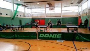 Tischtennisplatten in der Miltitzer Allee 3