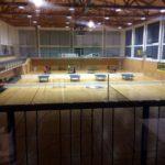 Tischtennisplatten im Sportzentrum