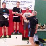 1. Platz Lukas Schlößer, 2. Platz Lars Steinhauer, 3. Platz Klaus Roher