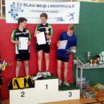 1. Platz Tillmann Lohse, 2. Platz Adrian Schmiedecke 3. Platz Christoph Kluge 4. Platz Niklas Köhler