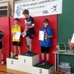 1. Platz Joris Benndorf, 2. Platz Carlo Wilke, 3. Platz Arne Dittrich