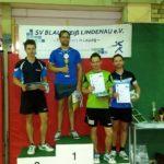 1. Platz Patrick Wohlfahrt, 2. Platz Patrick Stein, 3. Platz Jacob Mund und Enrico Winter