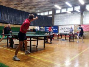 Finalspiele beim Turnier in Oschatz