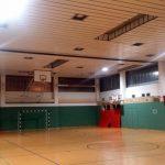 Notlicht in Sporthalle