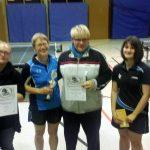 Glücklichen Sieger des Damen Pokalfinale