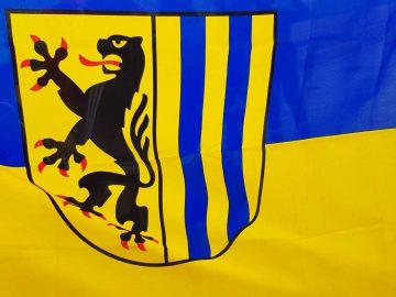 Flagge leipzig