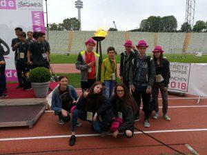 Team Leipzig bei der Siegerehrung