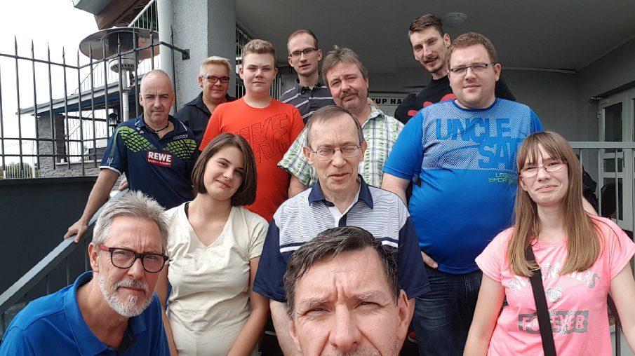 Alle Teilnehmer des Trainingslager