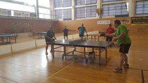 Tischtennis Demonstration