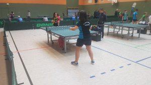Tischtennisspiel Frauen U 15