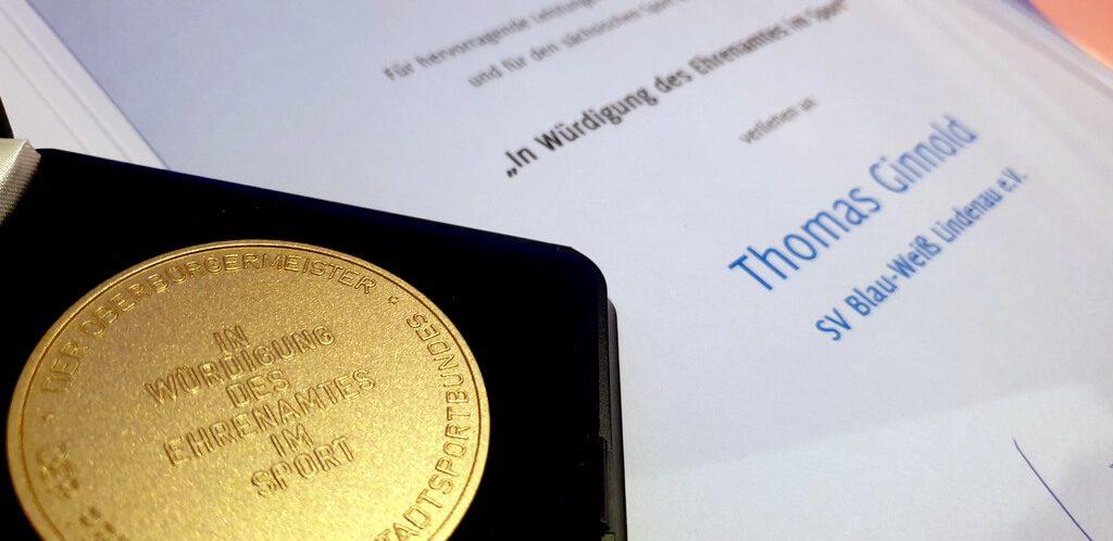 Auszeichnung Ehrenamt Leipzig Thomas Ginnold