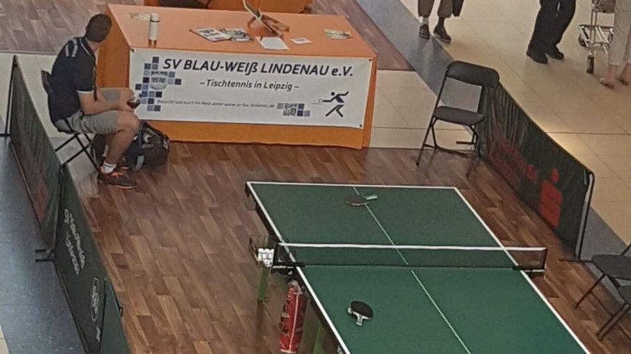 Familiengesundheitstag im Allee Center Tischtennis